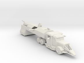 Death Race Dreadnought 285 scale in White Natural Versatile Plastic