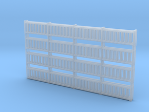 'N Scale' - Railing in Smooth Fine Detail Plastic