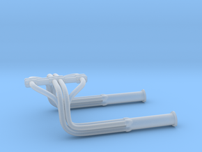 1:25 Custom Hot Rod Headers in Smoothest Fine Detail Plastic