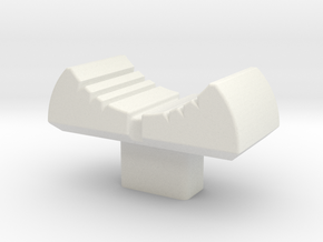 Akai MPC 3000 MPC60 Note Variation Slider cap in White Natural Versatile Plastic
