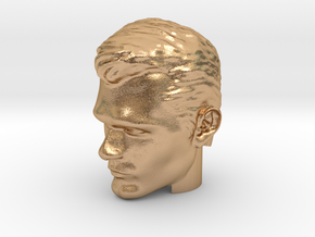 Superman Head | Henry Cavill in Natural Bronze