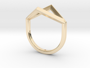 Ring - Portl in 14K Yellow Gold: 4 / 46.5