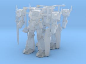 2x MS-07B Gouf Miniatures in Smooth Fine Detail Plastic: 1:400