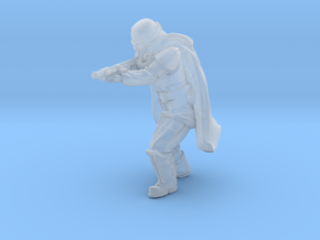 Grunge Trooper Shooting pose 2 in Smoothest Fine Detail Plastic