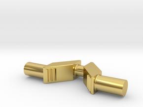 Krumtap H2-maskine Spor0 in Polished Brass