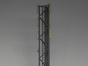 N Scale GSM Tower 208mm in Smooth Fine Detail Plastic