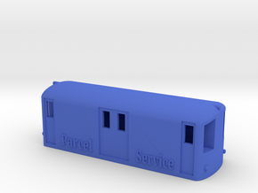 Derby Lightweight Parcel Service Van in Blue Processed Versatile Plastic