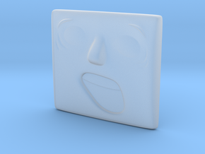 Surprised Face in Smoothest Fine Detail Plastic