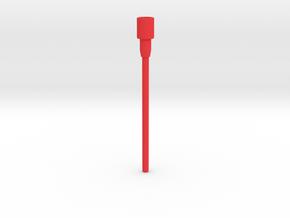 Repto Staff  in Red Processed Versatile Plastic