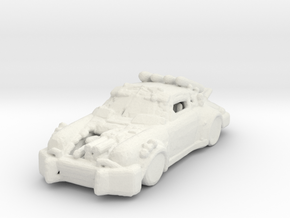 Death Race !4ks Car 285 scale in White Natural Versatile Plastic