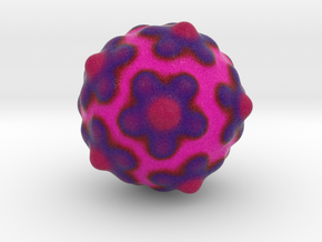 Lactococcal Phage P2 in Natural Full Color Sandstone
