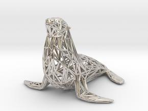 Sea lion in Platinum
