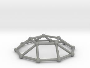 0732 J05 Pentagonal Cupola V&E (a=1cm) #2 in Gray PA12