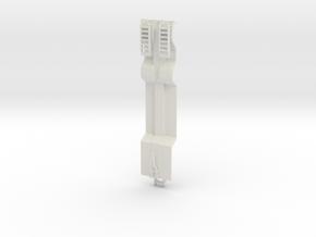 000606 Tieflader HO in White Natural Versatile Plastic: 1:87 - HO