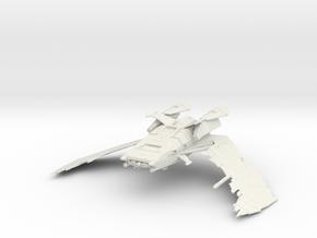Romulan Star Empire - Scimitar in White Natural Versatile Plastic