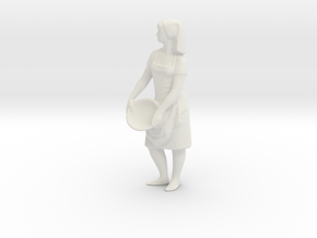 Printle V Femme 1285 - 1/24 - wob in White Natural Versatile Plastic