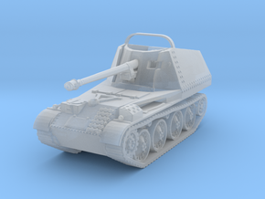 Marder III scale 1/144 in Smooth Fine Detail Plastic