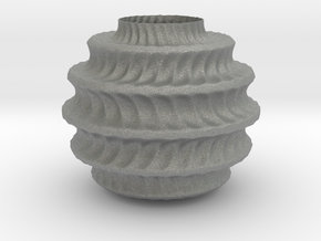 TwBox Vase  (downloadable) in Gray PA12