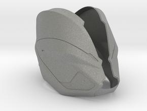 Part 1/3_Tron Legacy Quorras Helmet in Gray Professional Plastic