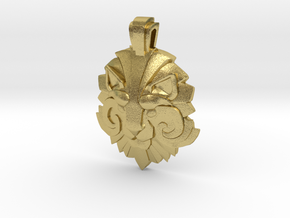 Dota2 Medal of Courage II in Natural Brass