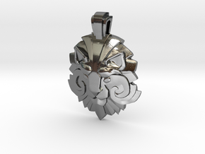 Dota2 Medal of Courage II in Polished Silver