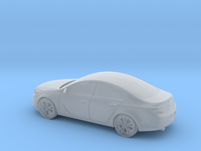 Vauxhall/Opel Insignia in Smooth Fine Detail Plastic: 1:160 - N