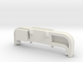 1/87 Mack CF extended bumper in White Natural Versatile Plastic