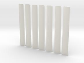 Custom request - T-Grips * 7 in White Natural Versatile Plastic