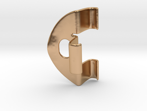 Handle FHT in Polished Bronze