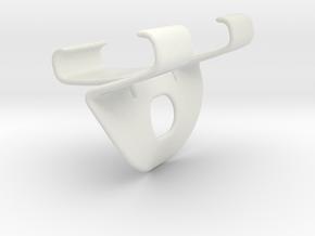 Handle FHT in White Natural Versatile Plastic