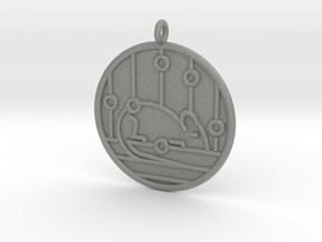 Genetics Symbol in Gray Professional Plastic