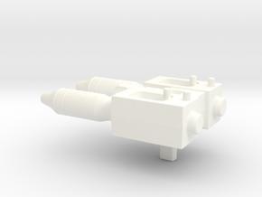 PotP Battleslash Missile Launcher in White Processed Versatile Plastic