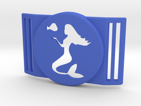 Freestyle Libre Shield - Libre Guard MERMAID in Blue Processed Versatile Plastic