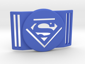 Freestyle Libre Shield - Libre Guard SUPERMAN in Blue Processed Versatile Plastic