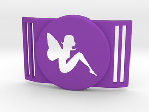 Freestyle Libre Shield - Libre Guard FAIRY in Purple Processed Versatile Plastic