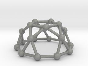 0736 J06 Pentagonal Rotunda V&E (a=1cm) #3 in Gray PA12
