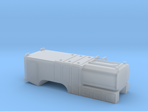 1/87th Fuel Lube Service Truck body in Smooth Fine Detail Plastic