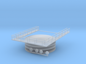 'N Scale' - Oil Tank Farm Accessories in Smooth Fine Detail Plastic