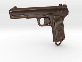 DETAILED TOKAREV TT33 in Polished Bronze Steel