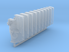 Ultra Marines Boarding Shields x10 #1 in Smooth Fine Detail Plastic
