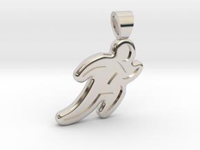 Running [pendant] in Platinum