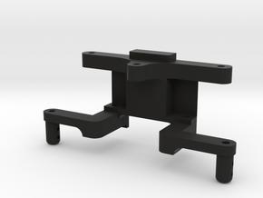 FR02 Rear Bulkhead in Black Natural Versatile Plastic
