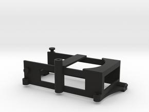 FR02 LiPo Battery Holder in Black Natural Versatile Plastic