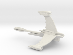 ISA Excalibur Fleet Action Scale 94mm in White Natural Versatile Plastic