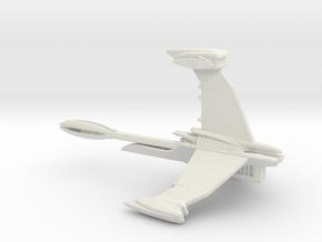 ISA Excalibur Fleet Action Scale 94mm in White Natural Versatile Plastic