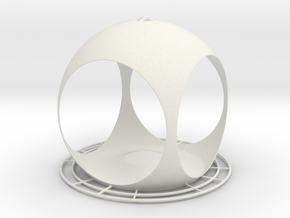 Quasisph. Birdfeeder (downloadable) in White Natural Versatile Plastic
