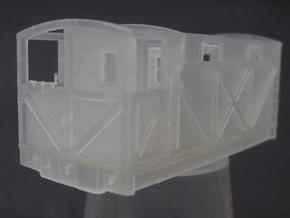 NSR 20ton Cravens Brake Van body - 4mm scale in Frosted Ultra Detail