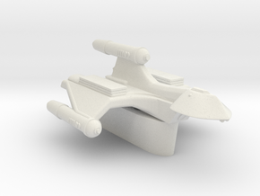 3125 Scale Romulan SparrowHawk-T+ 1-Pod Transport in White Natural Versatile Plastic