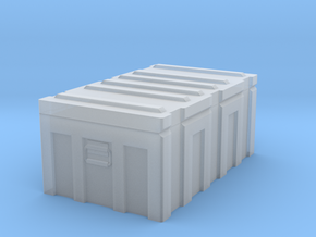 1/35 MILITARY FOOTLOCKER STORAGE BOX in Smooth Fine Detail Plastic: 1:35