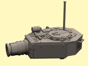 28mm Devastator tank turret (for new kit) in White Processed Versatile Plastic